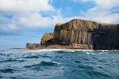Isle Of Staffa From The Sea