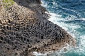 Staffa Rocky Coastline