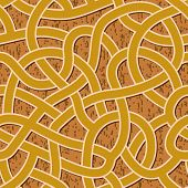 seamless abstract complex maze, labyrinth path