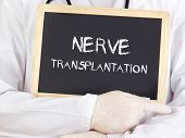 Doctor Shows Information: Nerve Transplantation