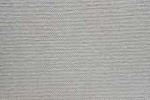 Texture Of Rough Fabric Or Canvas Gray Color