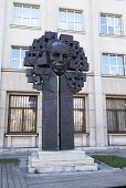 John Atanasoff Monument In Sofia