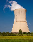 Reactor Cooling Tower Steam