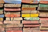 Multicolor Scaffolding Planks