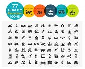 picture of beach hut  - High Quality Recreation Icons including - JPG