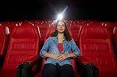 stock photo of cinema auditorium  - cinema - JPG