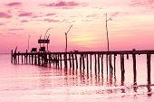 image of nightfall  - Nightfall by the Sea Evening Meditation  - JPG