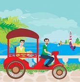 Постер, плакат: Tuk Tuk Taxi