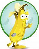 cheeky banana character