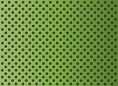 pic of metal grate  - Concept conceptual green abstract metal stainless steel aluminum perforated pattern texture mesh background as metaphor to industrial - JPG