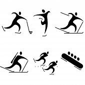 picture of olympic-games  - set of sports icons - JPG