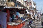 Street Bazaar In India