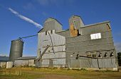 picture of auger  - An old elevator - JPG