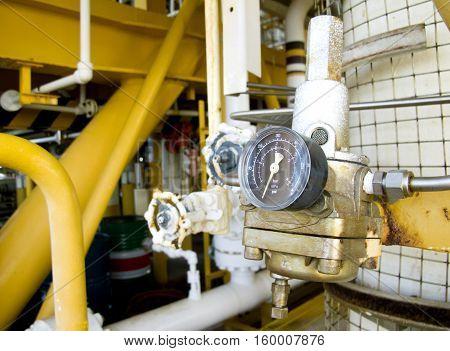 Pressure gauge for