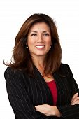 Stock Photo: Portrait of a mature pretty businesswoman