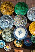Moroccan Plates Collection