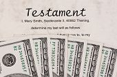 Dollar and English Testament
