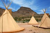 Native American Tepees