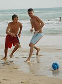 Soccer On The Beach2