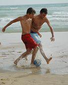Soccer On The Beach3