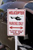 Estacionamento de helicóptero