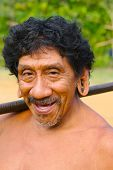 Smiling Amazon Indian