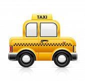 Carro de táxi