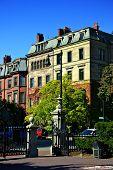 Jardim público de Boston...