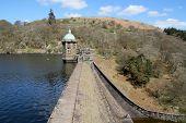 The Penygarreg Reservoir, Elan Valley, Wales.