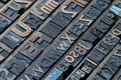 pic of lithographic  - Big collection of old retro lithograph letters - JPG