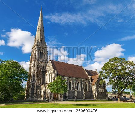 poster of St. Alban's Anglican Church, Locally Often Referred To Simply As The English Church, Is An Anglican