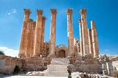 image of artemis  - Temple of Artemis in Jerash - JPG