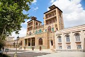 Shams-ol-Emareh in Golestan palace-The oldest of the historic monuments in Tehran, Iran
