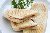 Ham & Cheese Panini , Italian sandwich