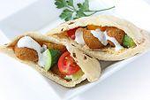 Falafel Pita Sandwich