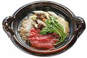 Beef Sukiyaki , Japanese Food