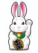 stock photo of rabbit year  - 2011  - JPG