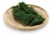 dried green laver, aonori, japanese food