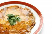 chinese omelet with crab meat