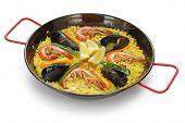 paella , spanish food