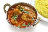 foto of indian food  - chicken curry  - JPG