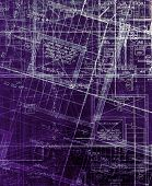 archecture plans  abstract blue