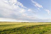 Prairie Sky Landscape poster