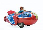 retro rocket racer toy