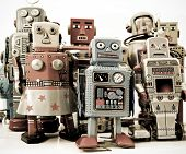 foto of tin man  - a team of robots - JPG