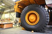 foto of heavy equipment  - Huge industrial truck  - JPG