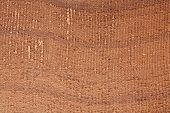 Homespun brown wool textile background - traditional Berber material