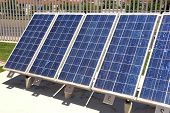 Solar Panel For Alternative Energy