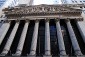 NEW YORK CITY, NY - AUG 8: Wall Street New York Stock Exchange is the world's largest stock exchange
