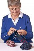 Pensioner Knitting Soxs